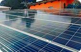 Casa com sistema fotovoltaico - Blue Sol Energia Solar