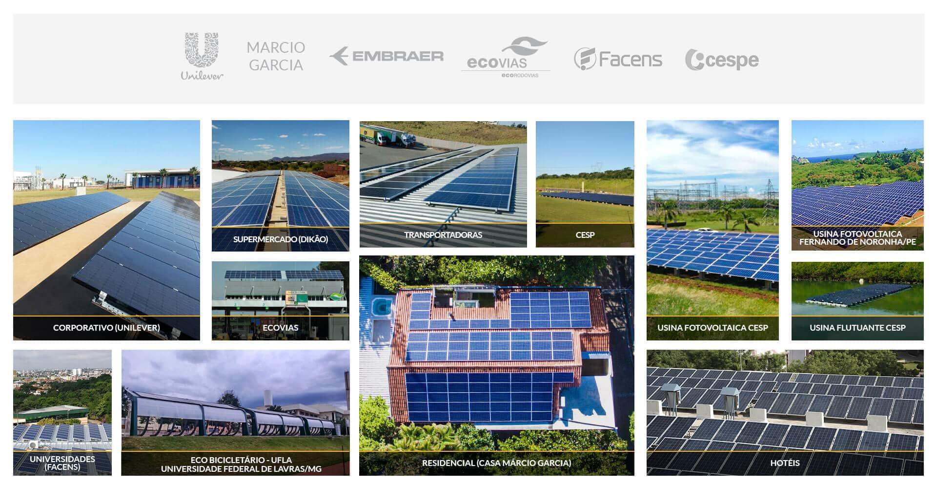 Sistemas fotovoltaicos Blue Sol - Blue Sol Energia Solar