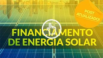 artigo financiamento de energia solar como pagar