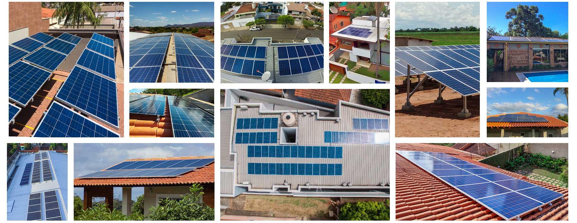 Blue Sol - Projetos de Nossos Parceiros e Alunos
