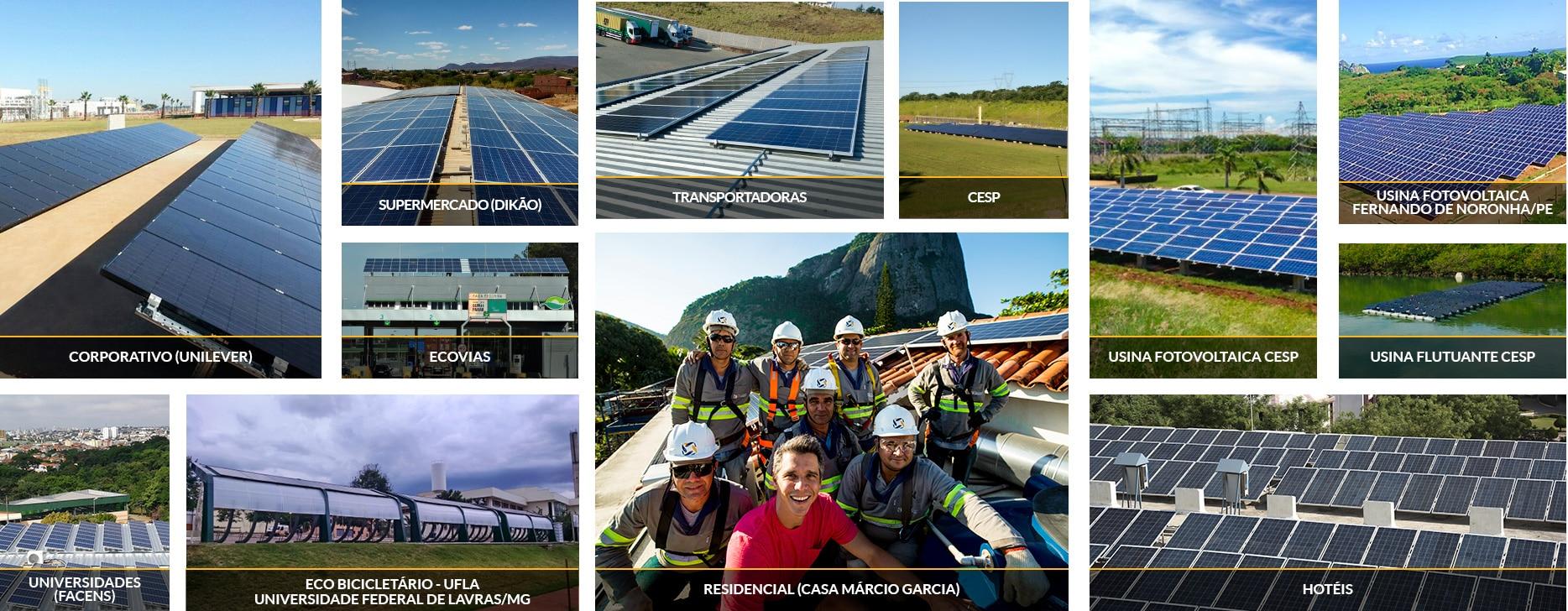 Sistemas Fotovoltaicos - Blue Sol Energia Solar