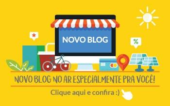 Novo Blog Blue Sol