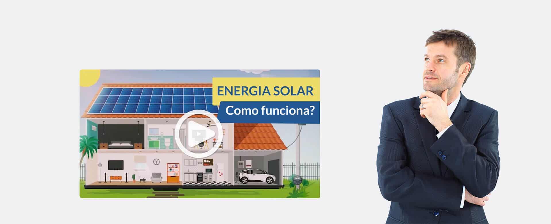 Como funciona energia solar - Blue Sol Energia Solar