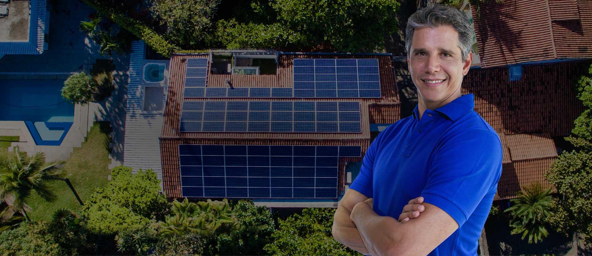 Energia solar residencial - Blue Sol Energia Solar