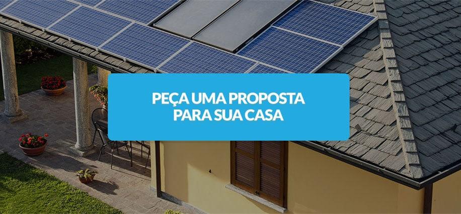 Energia solar residencial proposta - Blue Sol Energia Solar