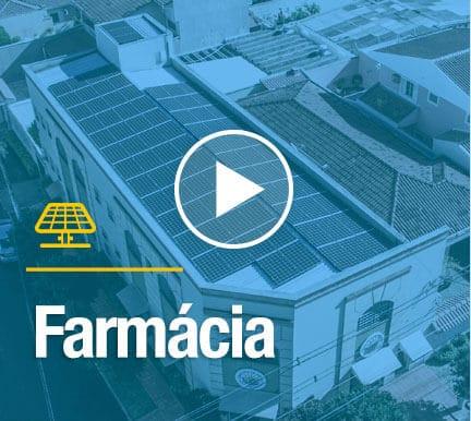 farmacia com sistema fotovoltaico blue sol