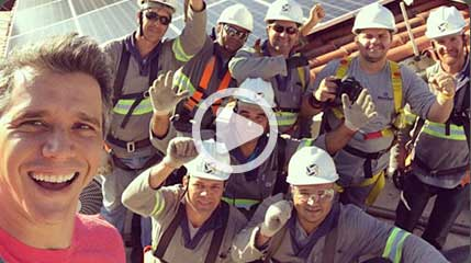 Marcio Garcia embaixador solar Blue Sol - Blue Sol Energia Solar