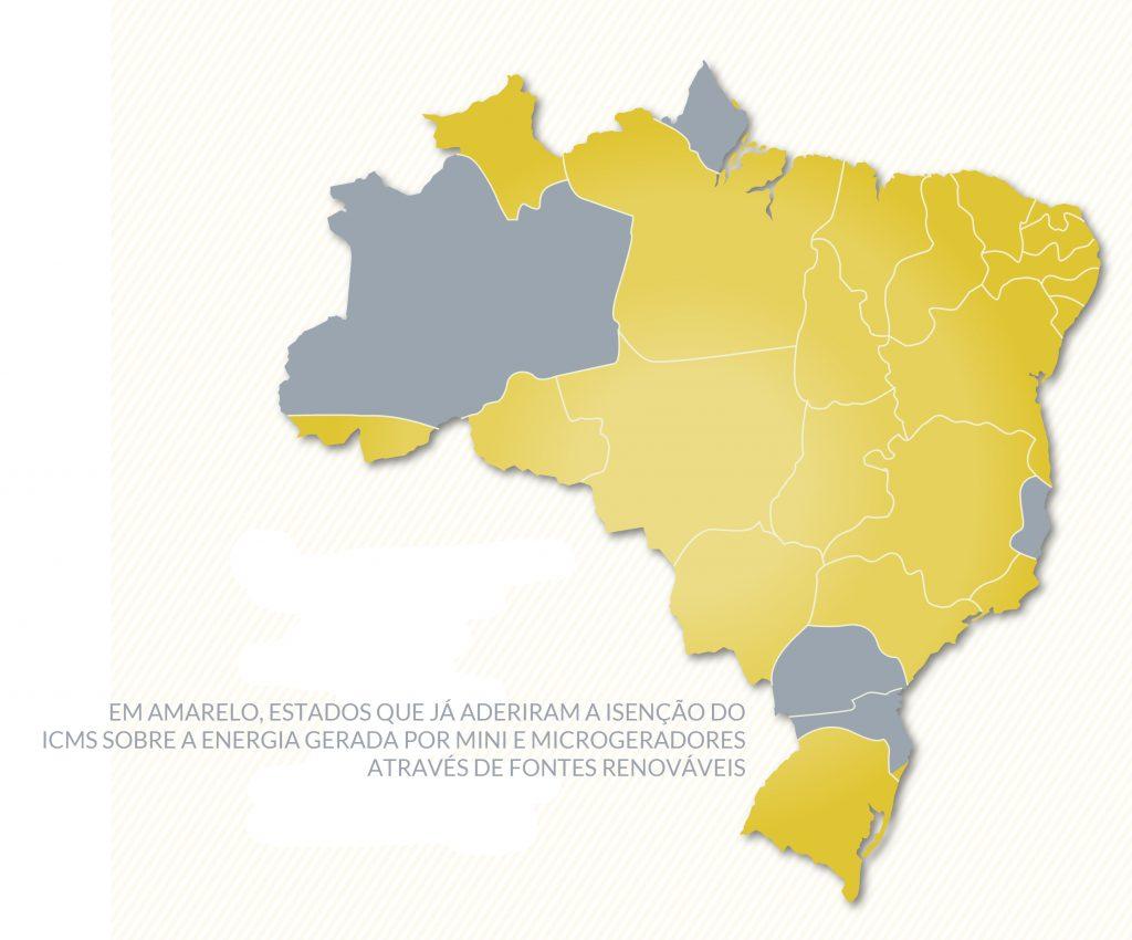 Mapa Isenção ICMS