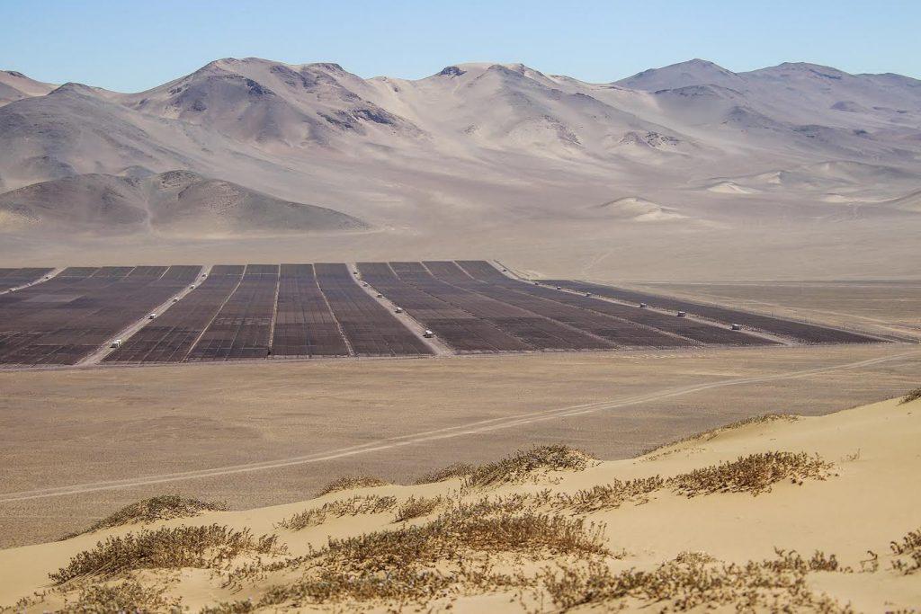 usina solar de energia renovável