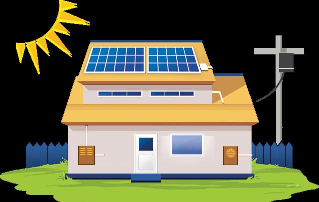 energia solar: sistema fotovoltaico residencial