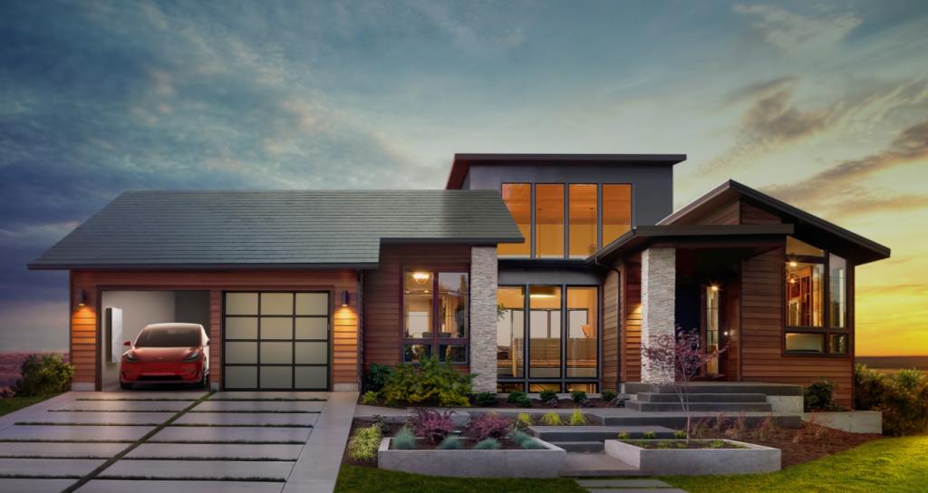 Telha solar: O futuro integrado da Tesla