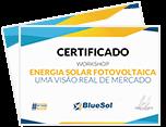 Curso de Energia Solar - Certificado Blue Sol